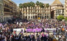 Málaga afronta el 8M con el reto de repetir la movilización del año pasado
