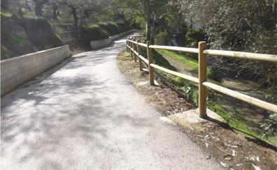 La Diputación aprueba proyectos para conectar Riogordo, Árchez y Canillas de Albaida con la Gran Senda