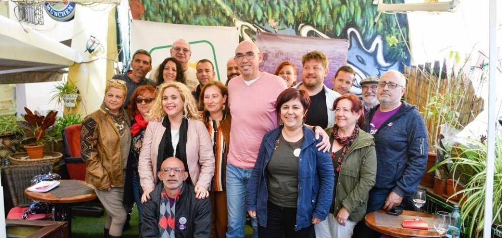 IU y Podemos sellan su pacto para acudir juntos a las municipales en Málaga