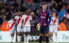 La duda de Dembélé y el mal momento de Coutinho, un problema ante el Lyon
