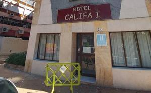 Nuevas protestas vecinales por el abandono de los hoteles Califa
