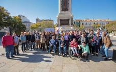 La plaza de la Merced acoge del 15 al 24 de marzo la cuarta edición del Espacio Solidario del Festival de Málaga