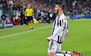 Morata regresa a Turín, donde su vida cambió