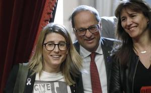 La fuga de consejeras del Govern catalán anticipa el fin de la legislatura de Torra