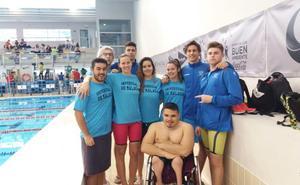 Los nadadores de la UMA logran cinco medallas en los campeonatos andaluces