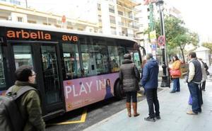 Marbella activará en abril la gratuidad del autobús para los empadronados