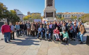 La alfombra solidaria del Festival de Málaga