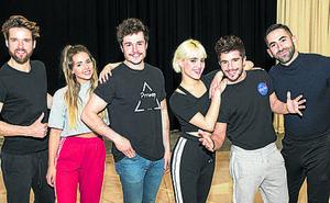 Primeros ensayos de Miki para Eurovisión