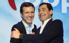 Casado y Moreno arroparán a De la Torre en la presentación de su candidatura a la reelección