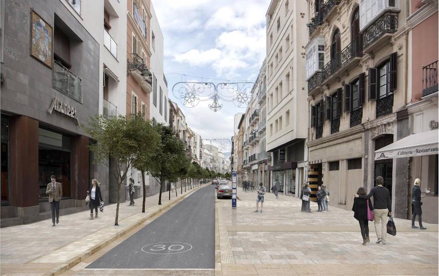 El Ayuntamiento baraja dejar sólo el tráfico de residentes en Carretería y Álamos y adapta el proyecto al paso de los tronos