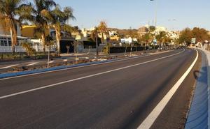 Finalizadas las obras de asfaltado en un tramo de la Avenida de Málaga en La Cala tras una inversión de 91.000 euros