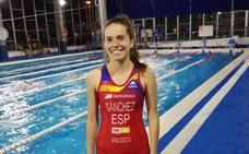 María José Sánchez, internacional absoluta con España en triatlón