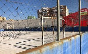 Unas pistas deterioradas en Puerta Blanca
