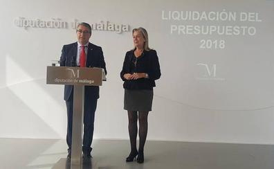 La Diputación cierra 2018 con récords de transferencia a los municipios y de ejecución presupuestaria