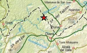 Registrados 13 terremotos esta madrugada en Sevilla y Cádiz, el de mayor magnitud en Olvera