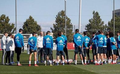 Zidane comienza su terapia de grupo