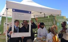 La campaña para el reciclaje de aparatos eléctricos impulsada por los productores recala en Marbella
