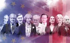 ¿Quién es quién en el 'brexit'?