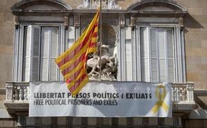 La Junta Electoral estudiará el lunes la negativa de Torra a retirar los lazos