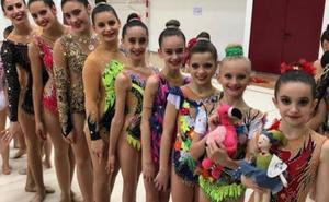 Tres medallas para el Gimnasia Rítmica Málaga en el Andaluz