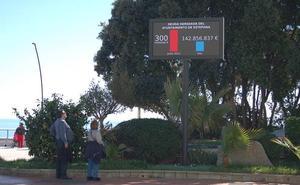 La Junta Electoral prohíbe al Ayuntamiento de Estepona la pantalla sobre la deuda municipal