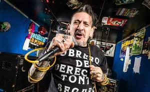 El vocalista de La Polla Records: «no encajábamos en ningún sitio»