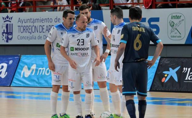 c028690f7fc Fútbol sala   El BeSoccer UMA Antequera, sin opciones ante el ...