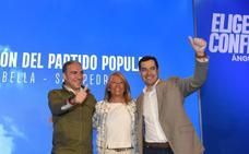 Juanma Moreno llama a votar por la «triple alianza» para que el PP gobierne en España, Andalucía y Marbella