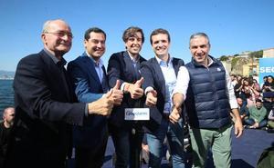 Pablo Casado ensalza a Francisco de la Torre: «Es una referencia política nacional»