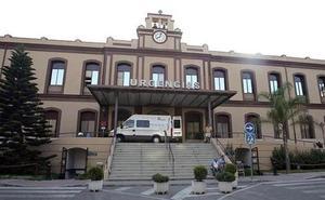 Cuatro heridos tras una colisión entre tres motos en Málaga