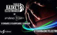 Málaga, punto de partida del tour de baloncesto electrónico