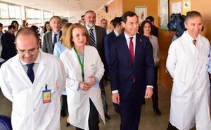 Moreno sitúa las mejoras en la gestión sanitaria andaluza como uno de los ejes de su acción de Gobierno