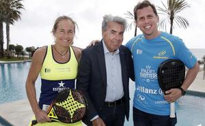 Manolo Santana, 'padrino' del regreso del World Padel Tour a Marbella