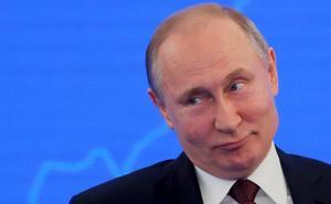 Putin celebra en Crimea el quinto aniversario de la anexión