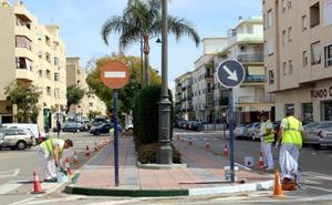 Mejoran la seguridad viaria en 51 kilómetros con un plan de repintado y señalización