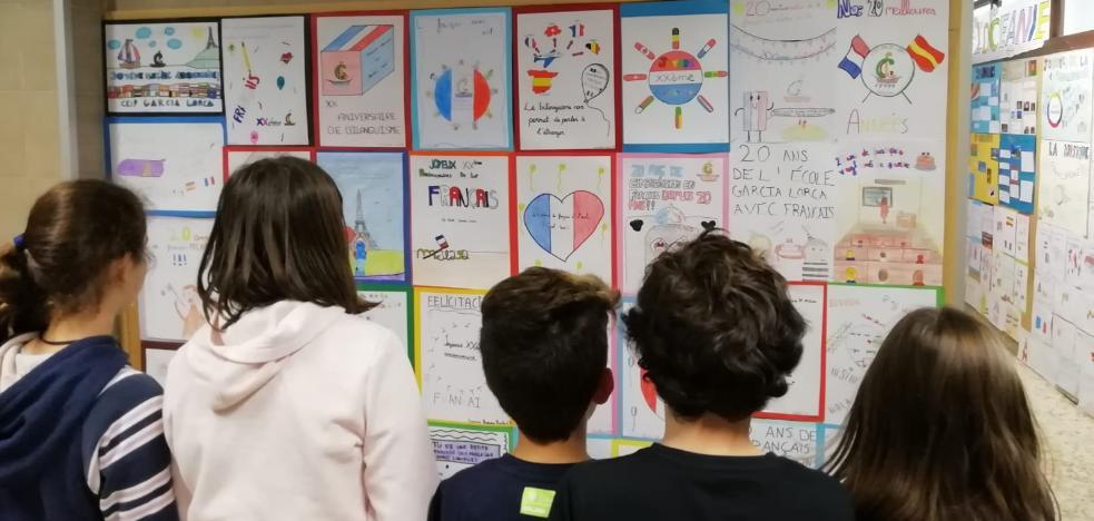 Colegio García Lorca, 20 años de bilingüismo francés en Málaga