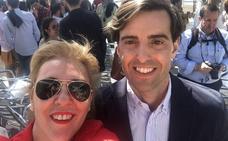 Carolina España irá como dos de la lista de Montesinos, que hoy comienza a recorrer Málaga