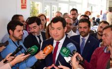 Moreno dice que el PP «ha buscado a los mejores» para las listas del 28A