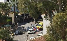 Una mujer resulta herida tras un accidente en la avenida del Pintor Joaquín Sorolla