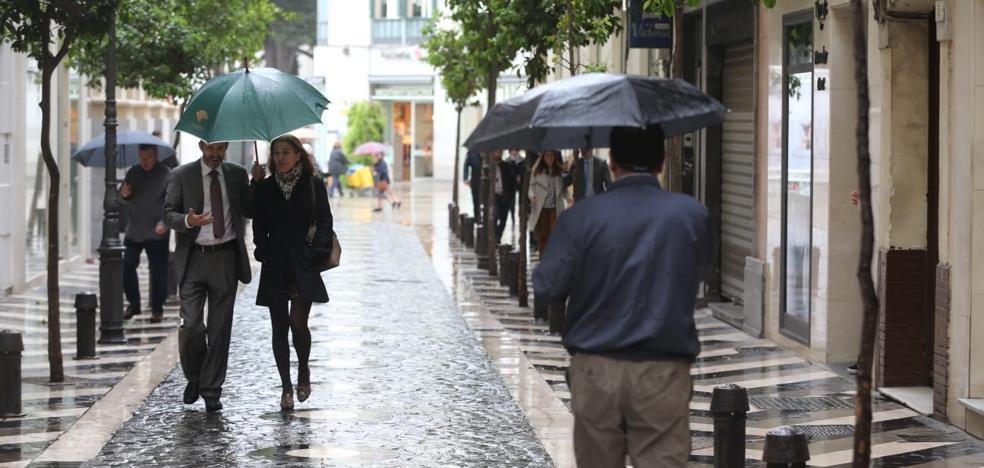 Las lluvias remitirán esta tarde y darán paso a un fin de semana primaveral en Málaga