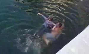 Un hombre en libertad bajo fianza salva de ahogarse a una mujer en Puerto Banús