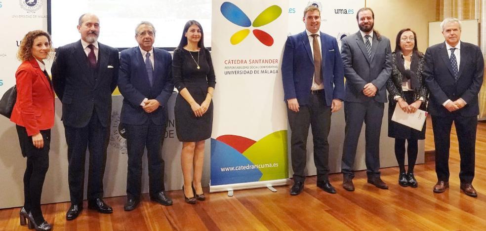 La UMA y el Santander premian una tesis sobre la responsabilidad de las empresas con el medio ambiente