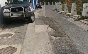 Vecinos de El Rocío y El Morlaco piden el asfaltado de sus calles y limpieza