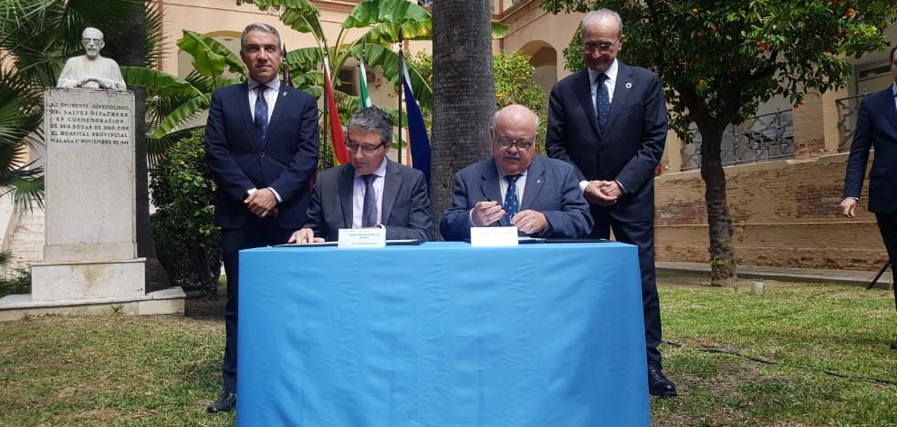 Diputación y Salud firman el acuerdo de cesión de los terrenos del Civil para el tercer hospital