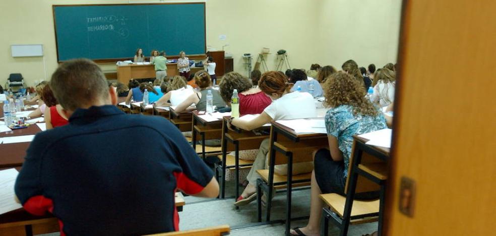 Los opositores a maestros tendrán un supuesto más para elegir en el examen práctico