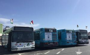 Cuatro autobuses con sello malagueño ponen rumbo al Sáhara