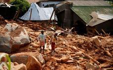 El cólera irrumpe ya en las tierras anegadas por 'Idai'