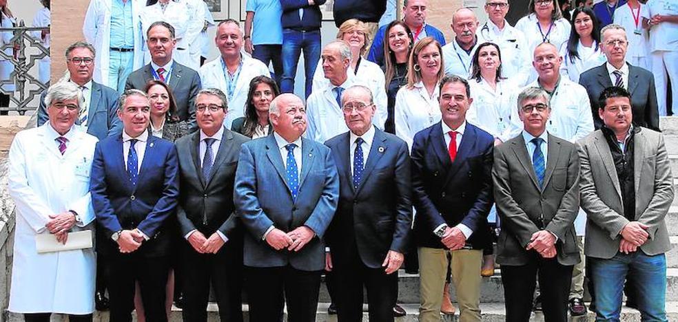 La cesión de terrenos en el Civil despeja el camino para el tercer hospital de Málaga