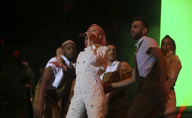 Así ha sido el concierto de Sweet California en el Palacio de Ferias de Málaga