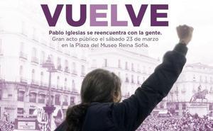 Pablo Iglesias regresa con la misión de rescatar a un Podemos alicaído